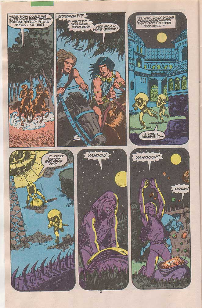 Conan the Barbarian (1970) Issue #236 #248 - English 3