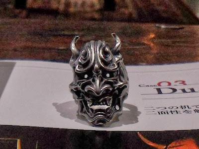日本雕刻師杉山孝博銀器品牌Dual Flow的最新力作, Rage Ring