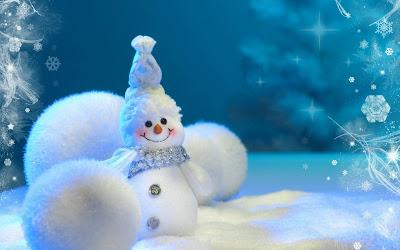 Muñeco de nieve - Snowman (Wallpaper Navideño)