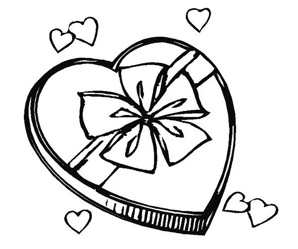Coloriage à imprimer : Hiboux amoureux Familiscope