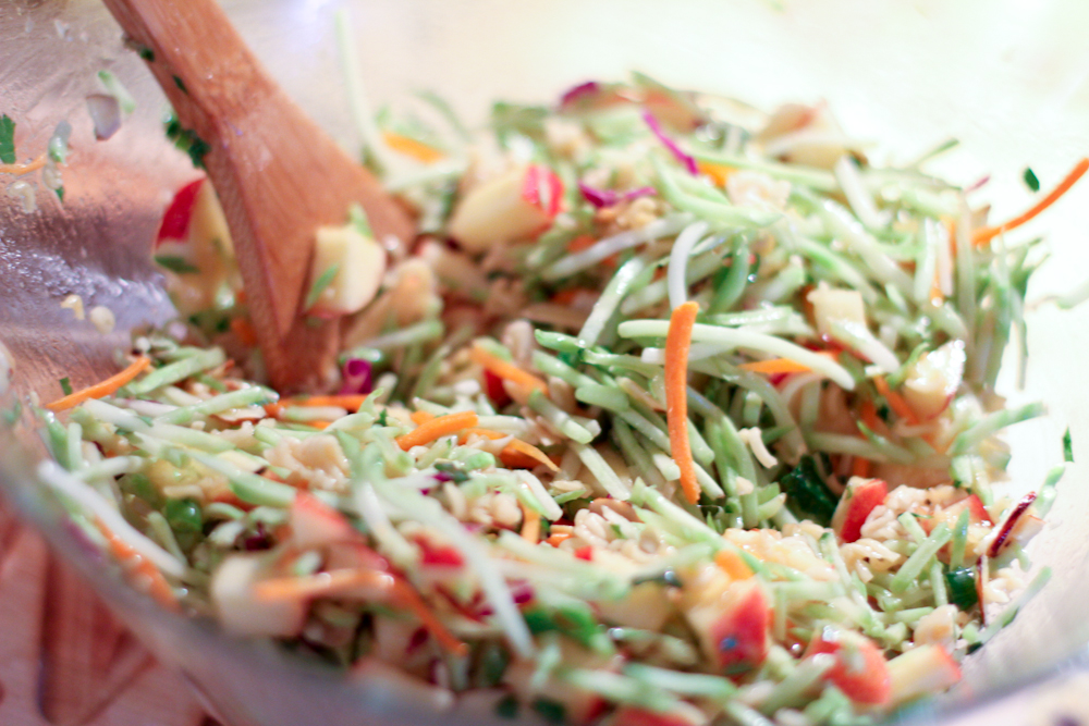 Jen's Broccoli Slaw - Scissors & Spatulas {and everything in between ...
