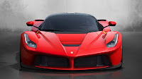 The Ferrari Laferrari front