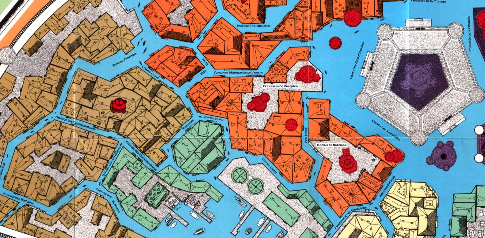 Glantri City Map
