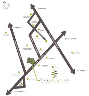 Kasa Luntian Tagaytay Location Map