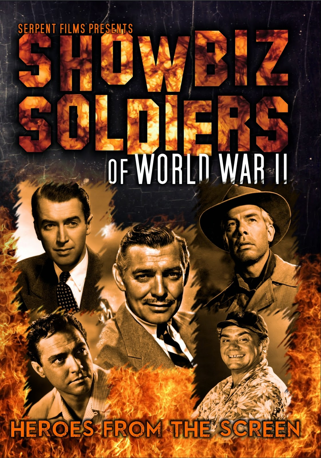 http://serpentfilms.blogspot.co.uk/p/showbiz-soldiers.html