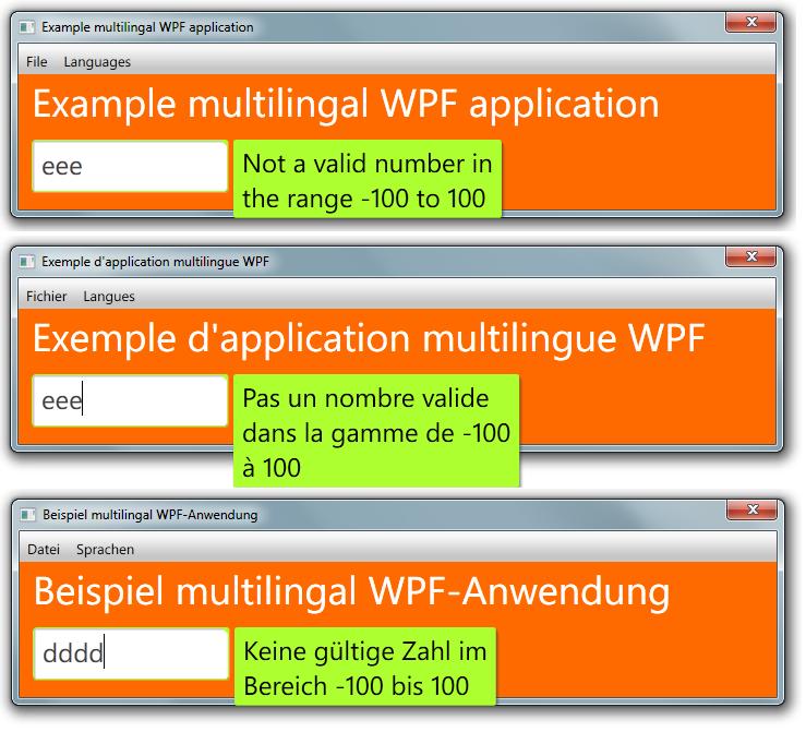 Validating user input wpf mvvm pattern