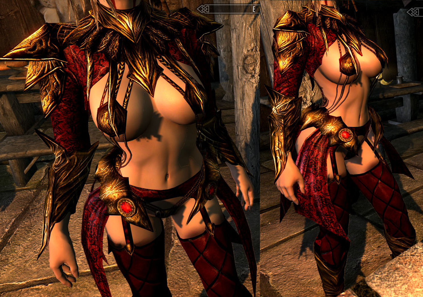 Sexy armor mods erotic video