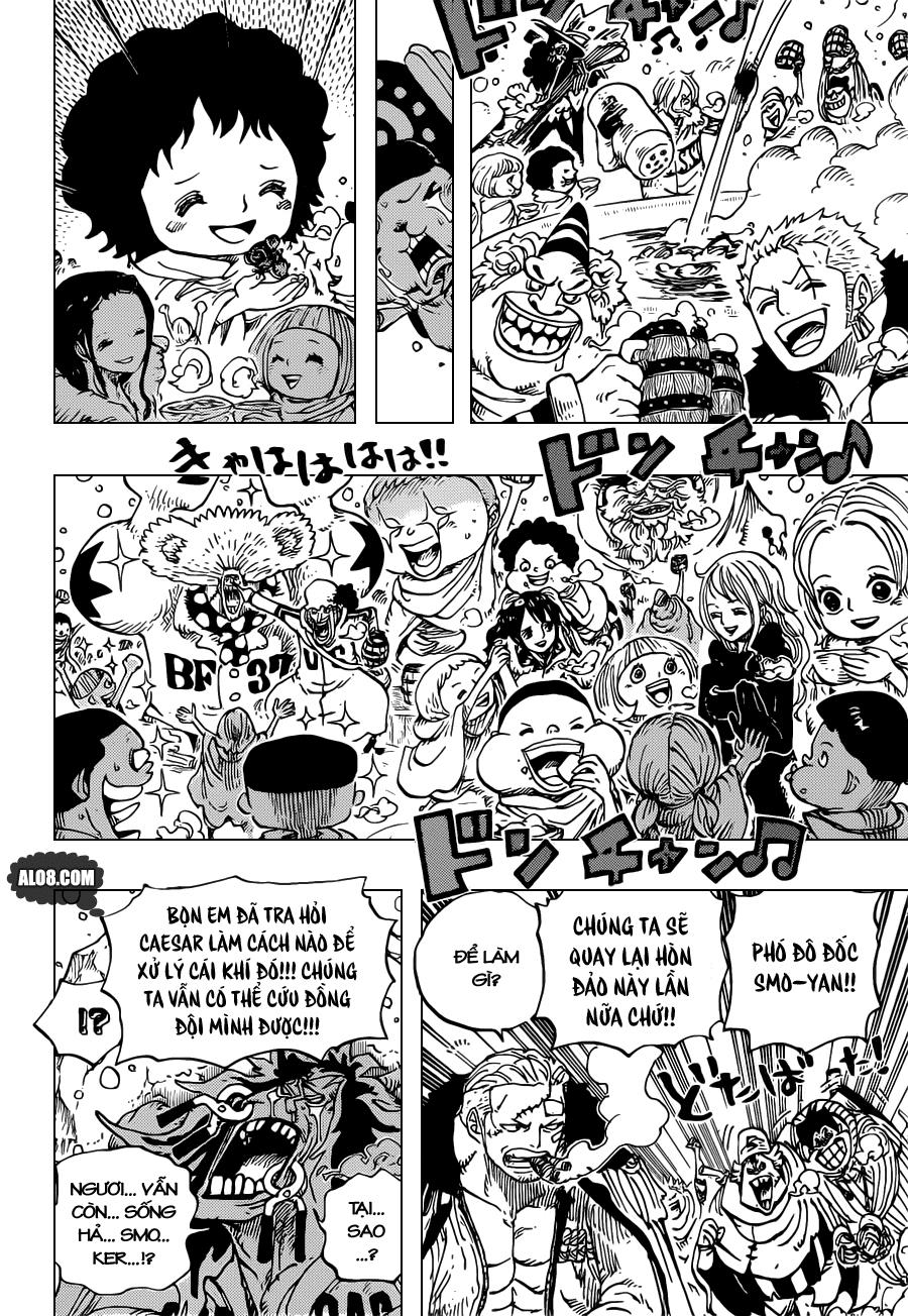 One Piece Chapter 696: Nơi lợi ích gặp gỡ 017