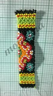 bead netted necklace, ethnic beadwork, tribal beadwork , ukrainian gerdany