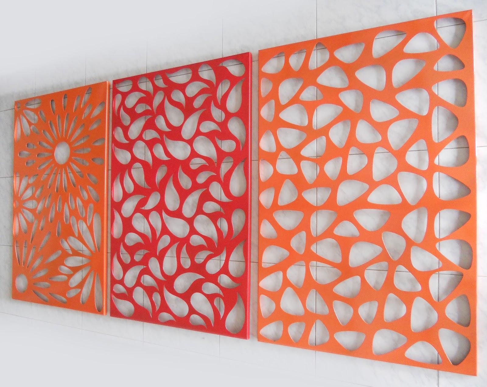 Paneles y avisos en lamina perforada delgo delgo for Laminas para pared