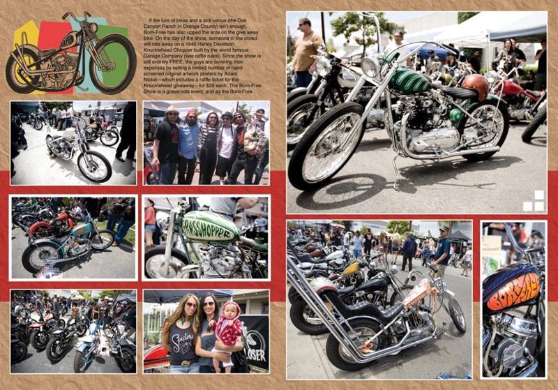 Born-Free: OutLaw Biker Magazine