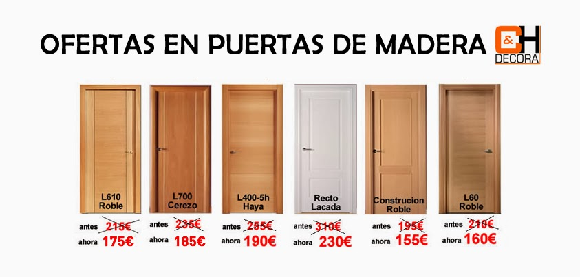 Puertas cocinas armarios ofertas puertas puertas baratas - Fabrica de puertas en madrid ...