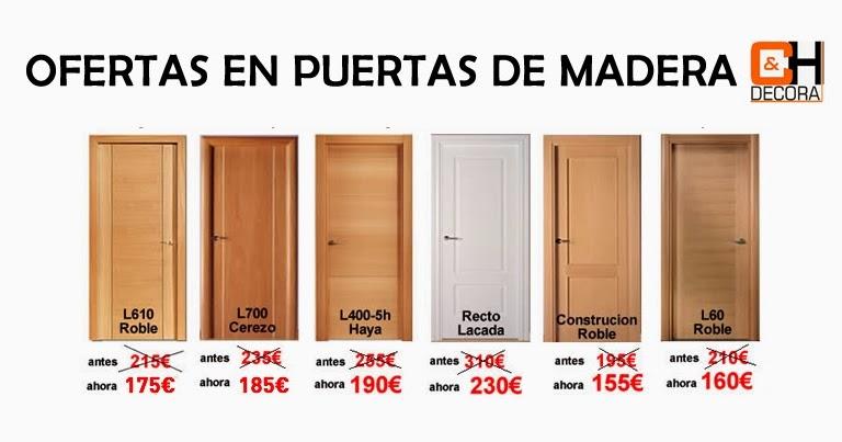 Ch decora puertas cocinas y armarios en madrid ofertas for Puertas de madera en oferta