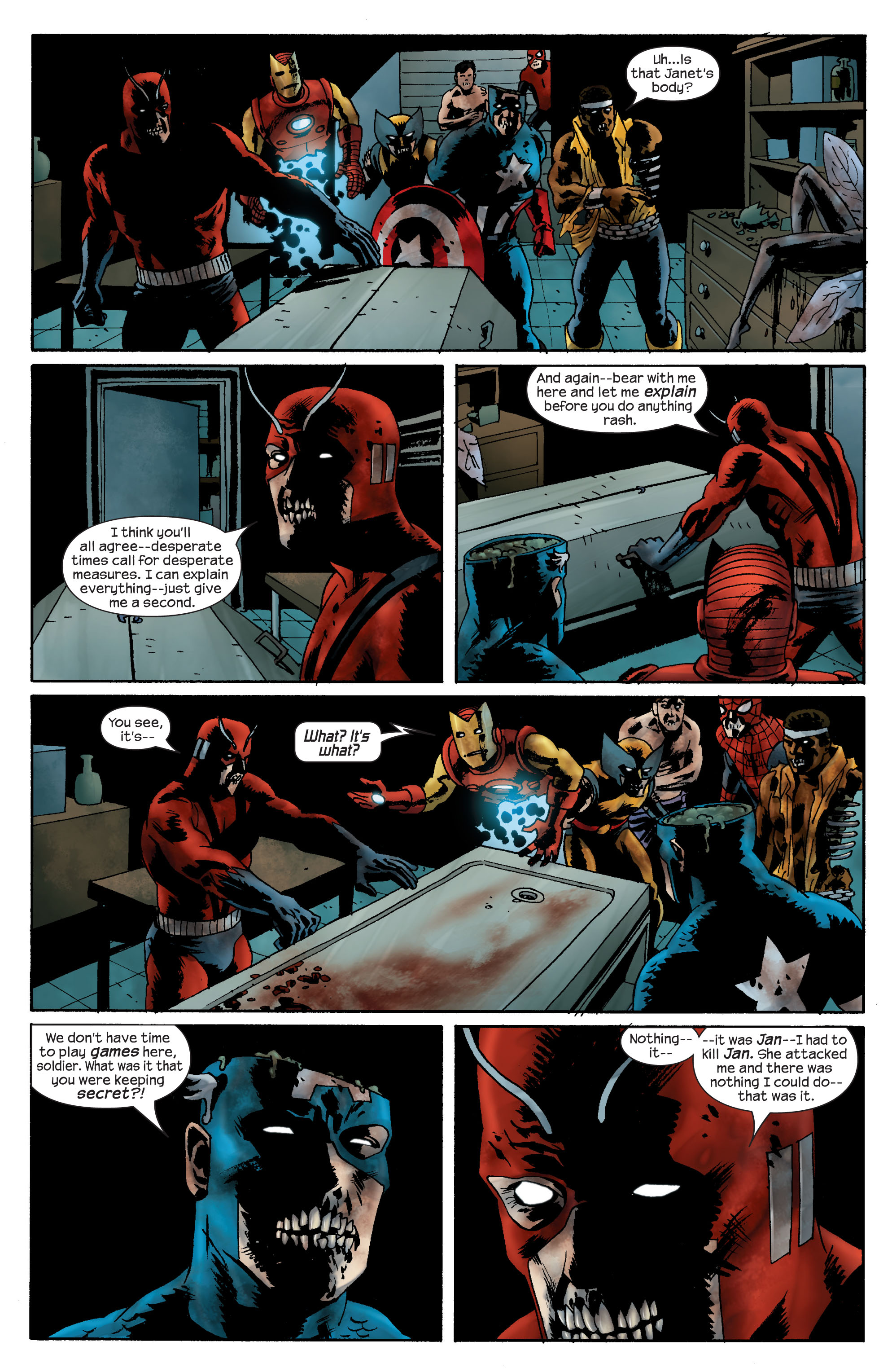 Marvel Zombies (2006) Issue #4 #4 - English 9
