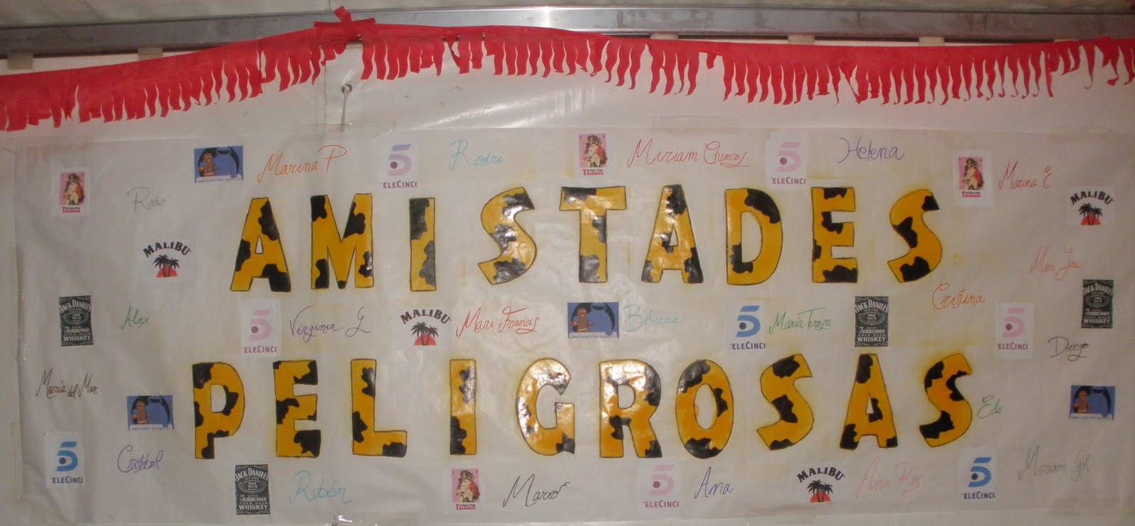 AMISTADES PELIGROSAS (L)