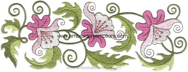 Embroidery Designs - 43[Fancy Flower Designs]