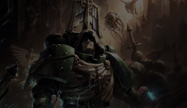 Dark Angels Codex and Model Release Video