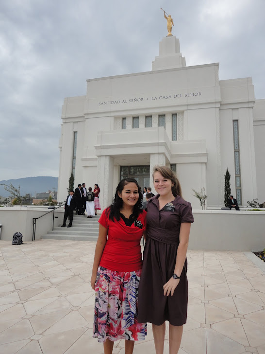 Hermana Hidalgo At the Temple