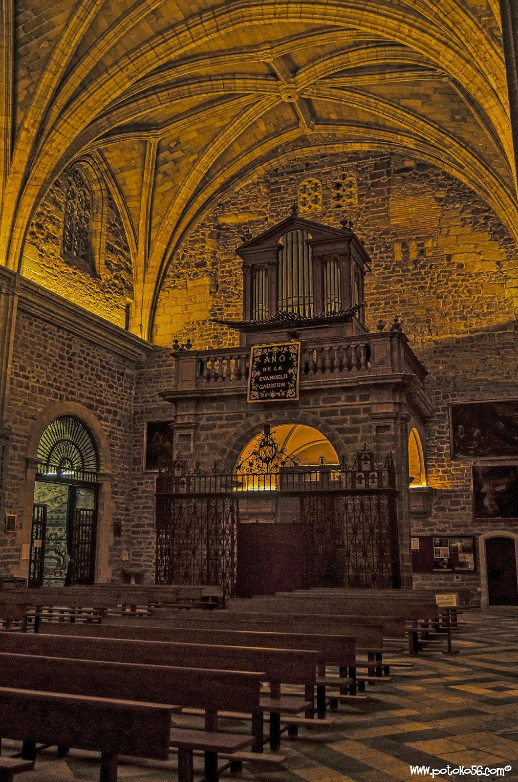 Interior de la Parroquia de Ntra. Sra. de La O Rota