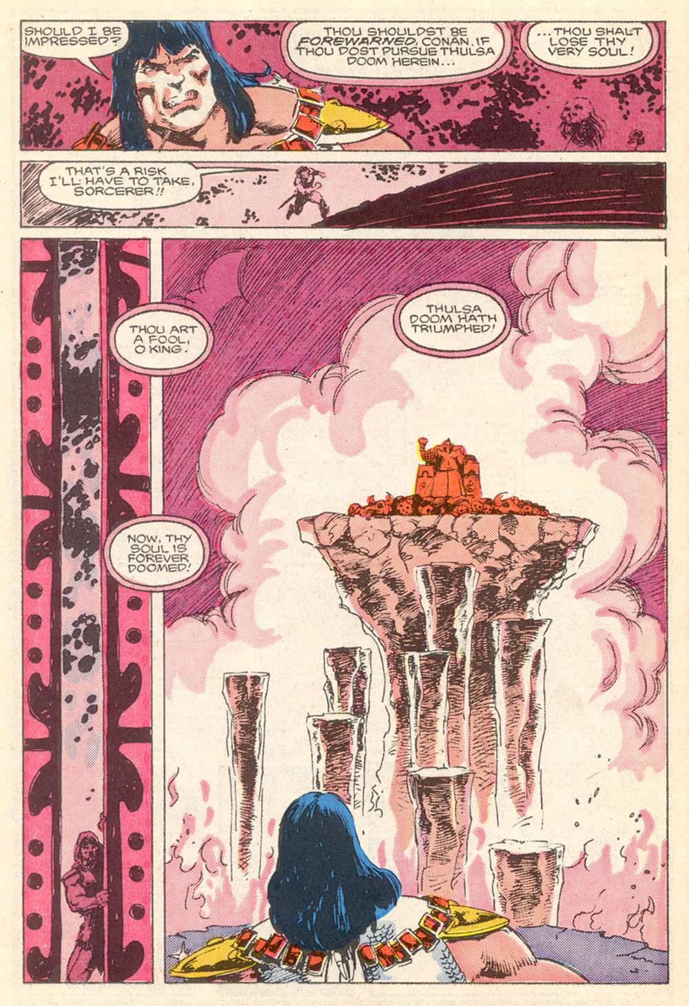 Conan the Barbarian (1970) Issue #203 #215 - English 18