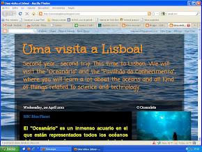Uma visita a Lisboa!