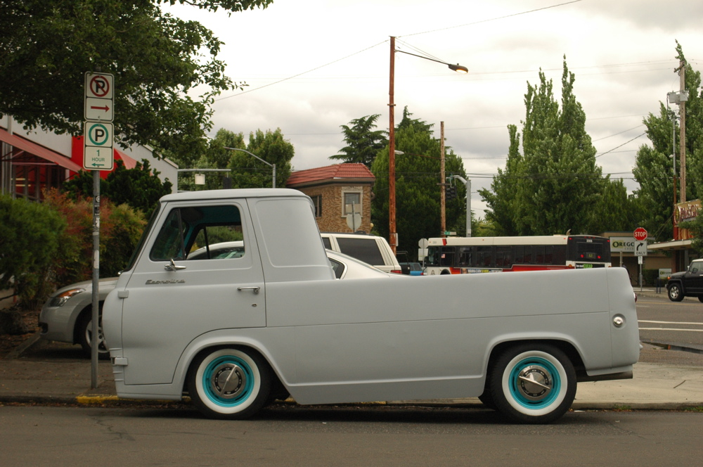OLD PARKED CARS 1964 Ford Econoline Pickup Custom
