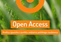 """Fragment okładki książki """"Open Access. Analiza zjawiska z punktu widzenia polskiego naukowca"""""""