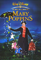 Capa do filme Mary Poppins, com Julie Andrews