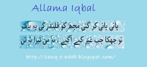 allama iqbal quotes quotesgram