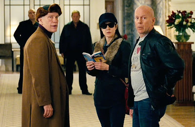 Bruce Willis John Malkovich Mary Louise Parker RED 2