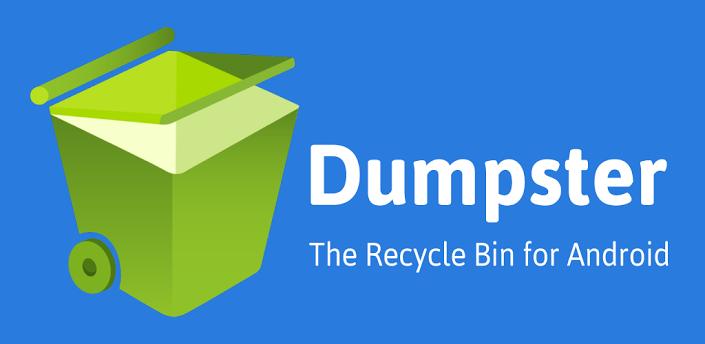 Dumpster, Recycle Bin untuk Android