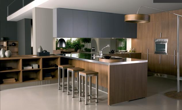 El car cter personal de la cocina cocinas con estilo - Nuevos materiales para encimeras de cocina ...