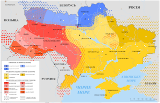 foto: karta dialektiv polissya