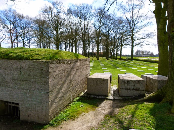 Langemark, German War Cemetery, Ypres
