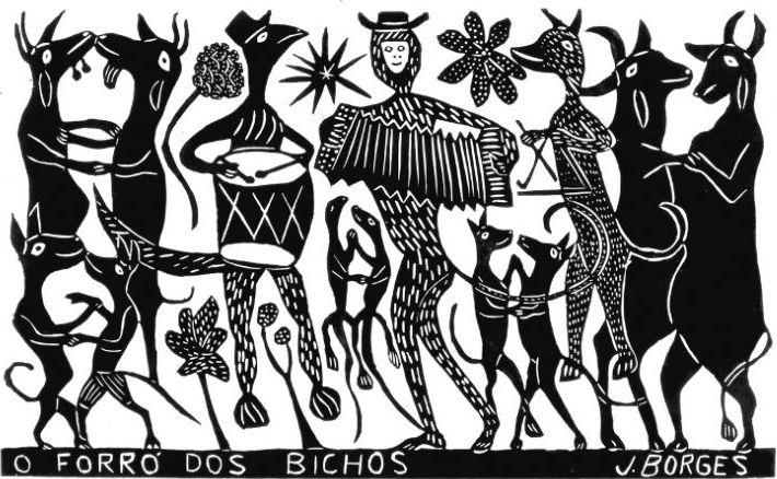 O Forró dos Bichos - J Borges