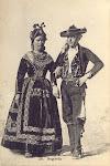 COMITIVA DE TUREGANO EN LA BODA DE ALFONSO XII FOTOGRAFIADAS POR J. LAURENT EN 1878