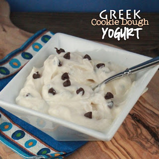 Greek Cookie Dough Yogurt