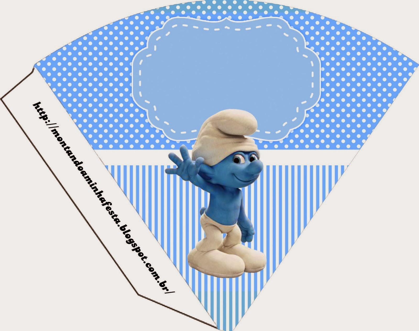 Smurfs: Invitations and Party Free Printables, for Boys ...