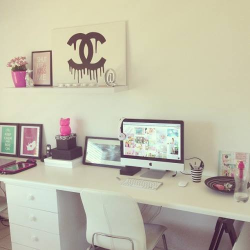 Aleelily beauty and lifestyle desk inspiration - Diy chambre ado ...