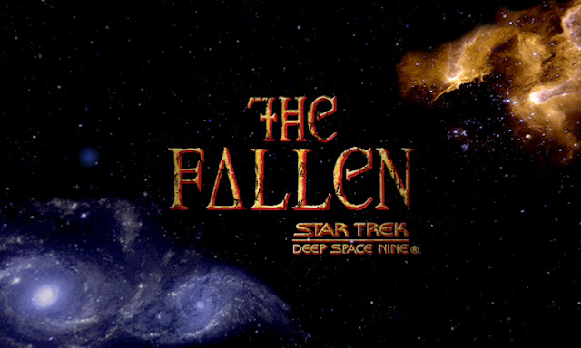 Deep Space Nine The Fallen title screen
