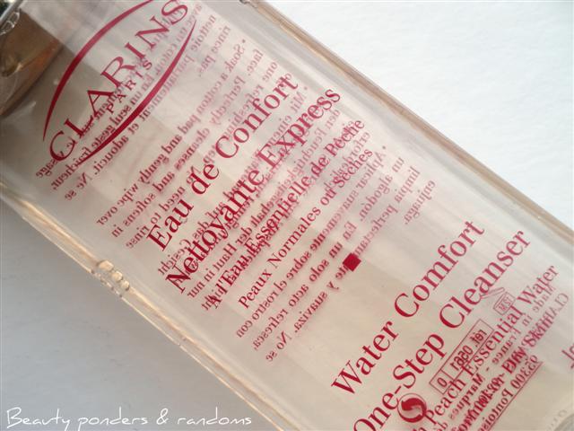 clarins water comfort