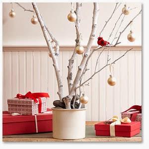 decoracion navide a con ramas secas decoracion casas