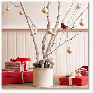 Decoracion navide a con ramas secas casas ideas for Decoracion con ramas secas