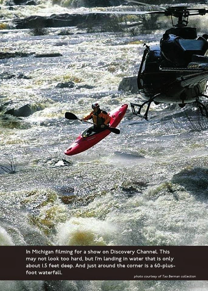 Inside story of writing Going Vertical: Life of an Extreme Kayaker