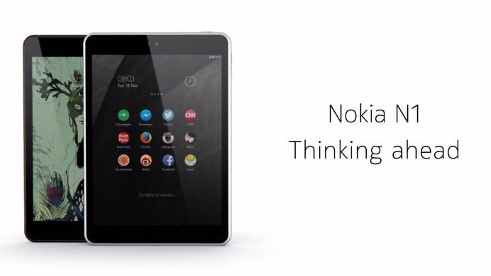 berita informasi Tablet Nokia N1