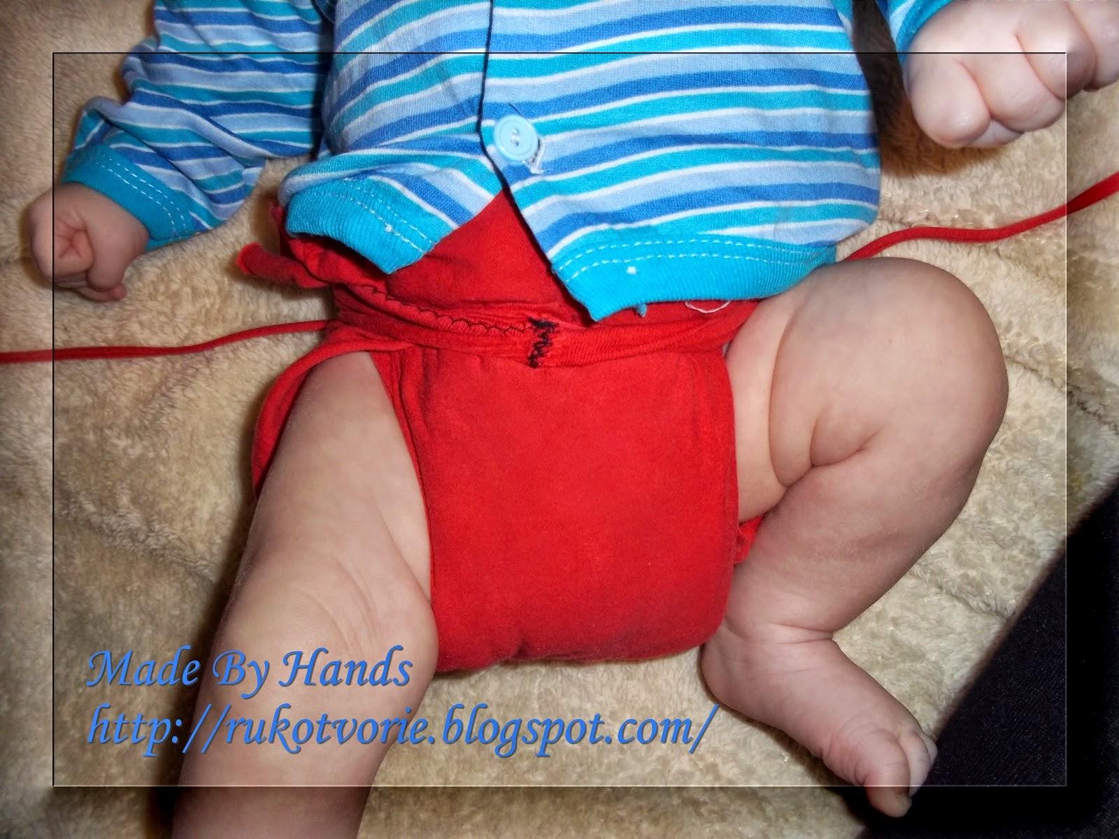 Памперсы своими руками для новорожденных фото 59