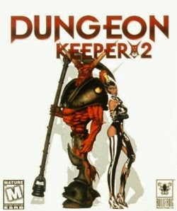 Dungeion Keeper 2 pc game cover
