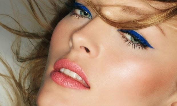 Tendências da moda olho colorido