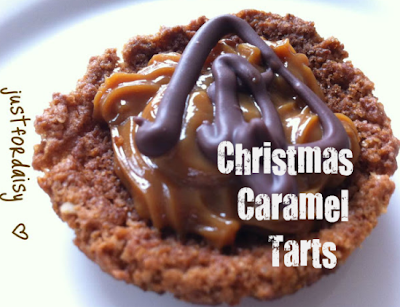 Just For Daisy :: Easy Caramel Tarts