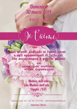 Il mio primo wedding event